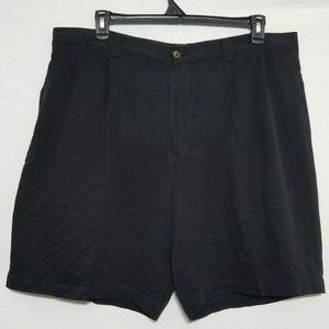 2/$40 Tommy Bahama Mens Black Silk Shorts 40 Waist